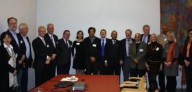 Der Botschafter Pakistans zu Gast beim GIRT Berlin